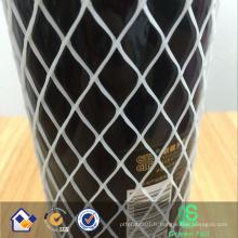 Filet de protection de bouteille / Filet d'emballage de bouteille / Filet de bouteille en verre