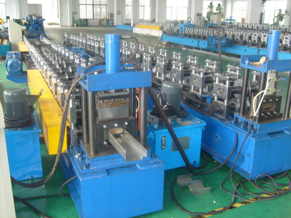 Galvanized Steel Door Frame Making Machine