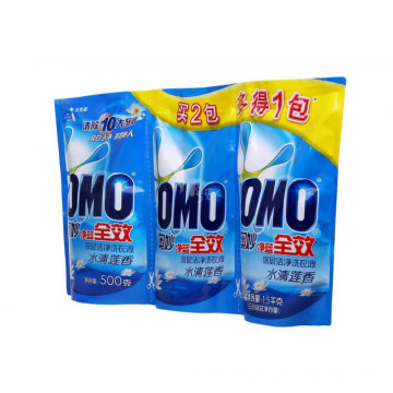 Stand Up Pouch For Liquid Detergent Packaging