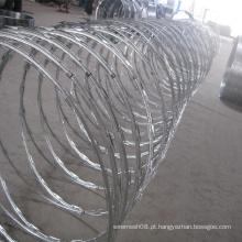 Malha de metal de arame farpado de alta qualidade