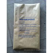 Hexametafosfato de sodio --- SHMP Fabricante
