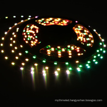 DC5V SMD4020 RGB 12mm width waterproof digital side view led strips