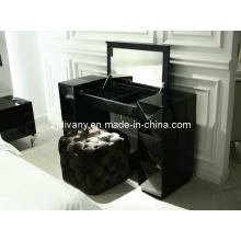Divany European Style Black Wood Dresser Mirror Dresser (LS-203)