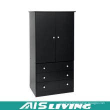 Armário durável feito sob encomenda do vestuário do quarto da madeira compensada (AIS-W258)