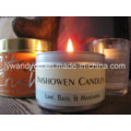 Fruit Scented Round Tin Candle
