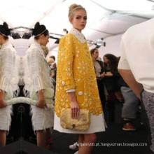 Grossista de roupas Casaco de alta qualidade com rendas para mulheres