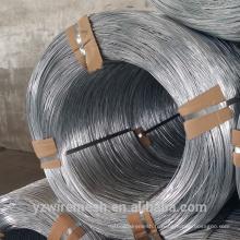 Production directe de fils galvanisés / fil de liaison gi / fil de fer électro galvanisé à chaud