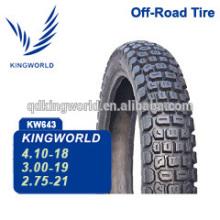 3.00-19 pneumático de pneu da motocicleta