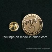 Hohe Qualität Gold sterben geschlagen Casting Badge