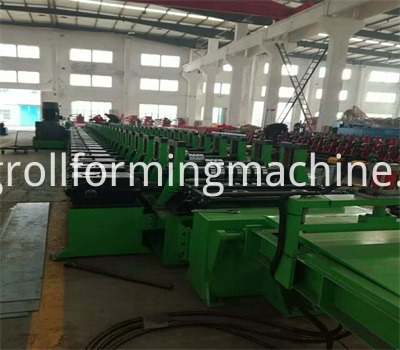 Stereo Garage Bottom Plate Roll Forming Machine