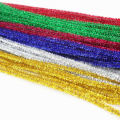 wholesale coloful Bright colour super long and jumbo fuzzy stick
