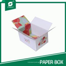 Caja corrugada de envío / envío / empaquetado de cartón corrugado Rsc a dos lados