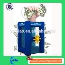 Máquina inflable del dinero del efectivo de la venta superior para el interactive comercial para la venta