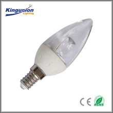 Low consumption Aluminum Kingunion LED Candle Light Série CE et RoHS approuvé> 420lm