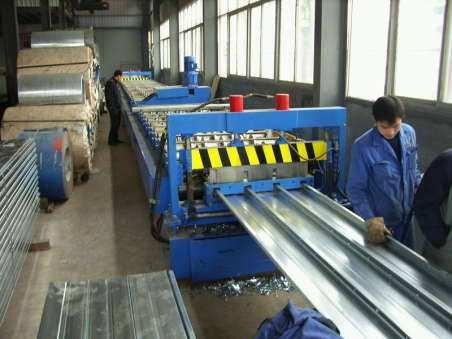 closed type floor deck machine