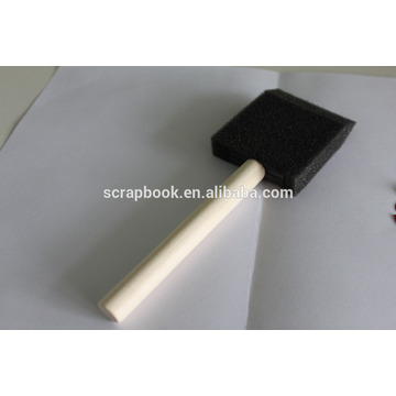 Quality foam PU sponge brush for art and home decorations and scrapbooking
