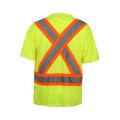 100% poliéster Birdeye camiseta de seguridad reflectante