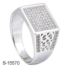 Mais recente Design de moda jóias homem anel prata 925