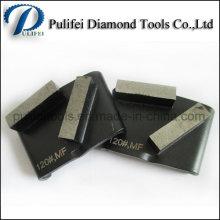 Outils de meulage de diamant Coussin de meulage de plancher en béton HTC