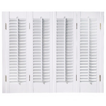 Most Popular Excellent Quality Factory Price Custom Made Bi-Fold Exterior Slat Blinds Shutters