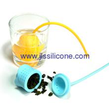 Romantic Rose Style Silicone Tea Strainer And Tea Bag