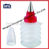 Food grade plastic icing nozzles cake decoration