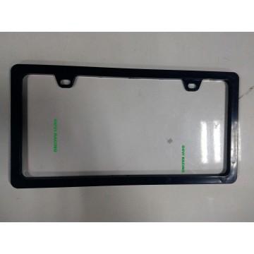 Different Shape Black Car License Plate Frame Frames Holder with ABS 312X160mm