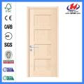 JHK-SK04 4 Panel Wooden Modern Shaker Door