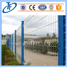 2.4X1.8m 2 folds welded fence panel with post