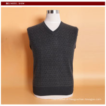 Yak Wool / Cachemire V Necck Pull à manches longues Pull / Garment / Clothign / Tricots