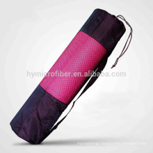 Eco friendly quality canvas yoga mat tote bag