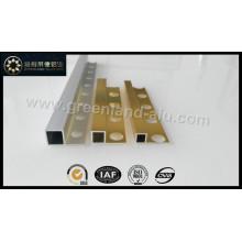 Aluminum Box Tile Edge Trim Profile (Silver Gold Anodized)