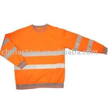 Chemise à manches longues haute sécurité à haute visibilité