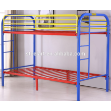 kids furniture design metal double decker children bed