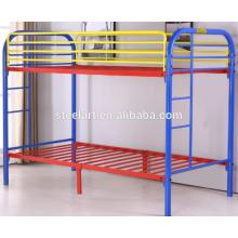 детская мебель металлическая конструкция двухэтажные детские кровати