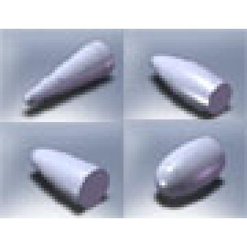 Bours à carbure de tungstène avec des types de gamme complète