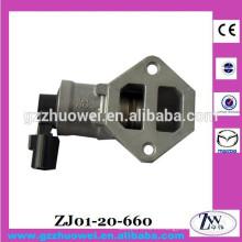 ZJ01-20-660 Válvula de control de aire de ralentí Válvula de control de velocidad de ralentí para Mazda 3 5