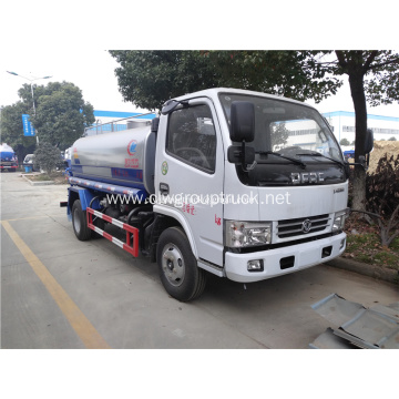 Dongfeng chassis 4X2 3000 liters water tank truck