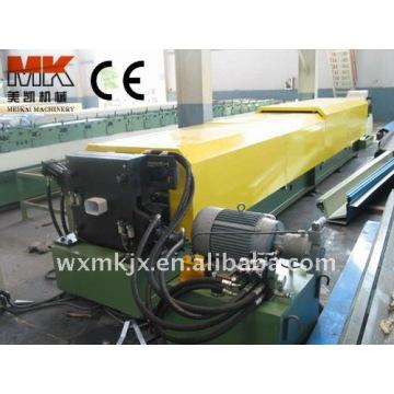 Tubería de acero corrugado tubo de Downspout que hace la máquina en wuxi