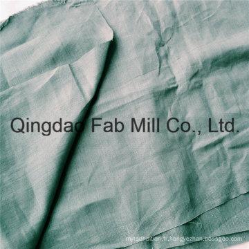 Tissu de chanvre pur 100% écologique (QF16-2499)