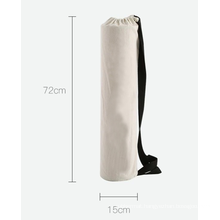 Yugland Yoga Mat Bag Carrier Durable Canvas Cotton Carry Strap Drawstring Mat Bag