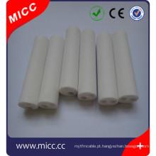 Tubo cerâmico de alumina3 Tubos cerâmicos de aluminaCristal