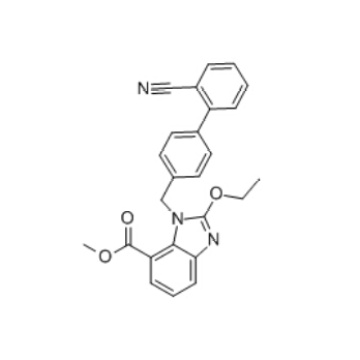 Methyl1-[(2'-cyanobiphenyl-4-yl)methyl]-2-ethoxy-1H-benzimidazole-7-carboxylate(139481-44-0)