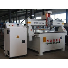 Área de trabajo 1300 * 2500mm Carpintería CNC Router Machine CE Certificado