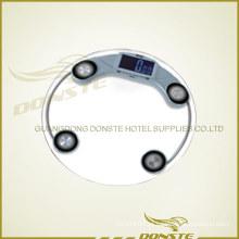 A escala a mais nova do peso para o hotel