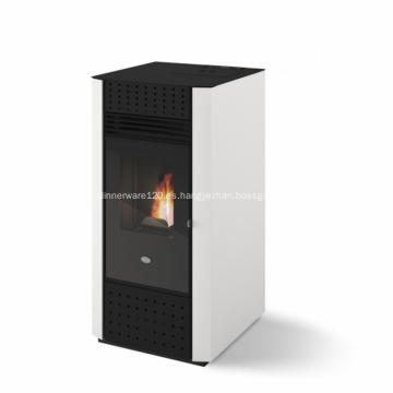 Estufas de pellets de biomasa con sistema de aire y calor CR-08