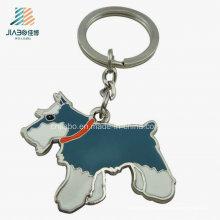Изготовленный На Заказ Корабли Металла Eco-Содружественный Сплав Цинка Эмали Металл Собака Брелок