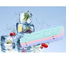 forme de fruits en plastique de foodgrade de ménage plateau fait sur commande de cube de glace pour la vente en gros