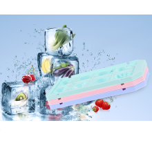 household foodgrade plastic fruit shape custom ice cube tray for wholesale