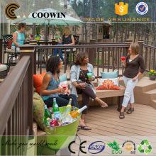 Construção de material de decoração wpc decking ao ar livre